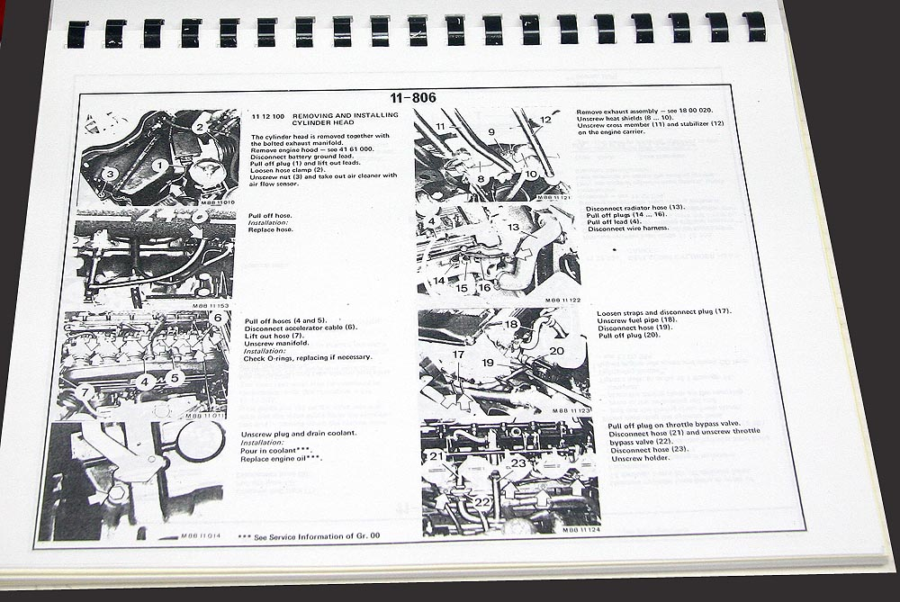 E24 Factory Service Manual (630/633/635/M6)(Reproduction)