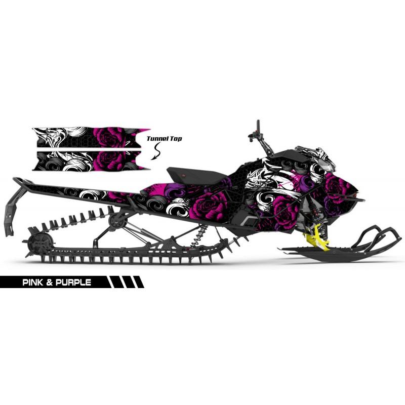 Deadly-Rose-Ski-Doo-REV-GEN-4-2017-Sledwraps