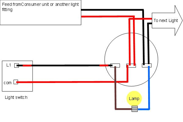 Light Wiring Diagrams Light Fitting