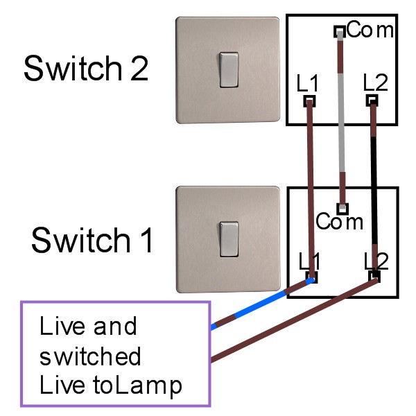 mk 2 way light switch wiring  wire center •