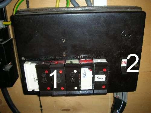 Old Fuse Box
