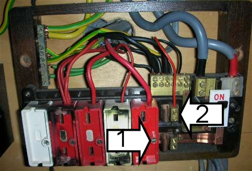 old fuse box circuit index