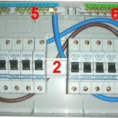 Wylex Split Load Consumer Unit Wiring Diagram Narva 4 Pin Relay | Units Electrics