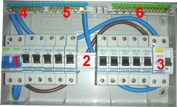 Consumer unit wiring diagram somurich