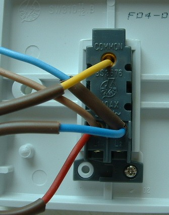 4 way wiring diagram uk genie garage door opener three light switching fitting two switch wires