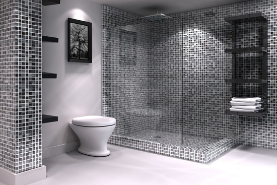Amazing Bathrooms With Mosaic Tiles