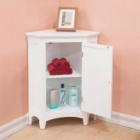 15 Trendy Corner Bathroom Cabinets | Ultimate Home Ideas