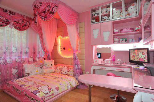 O Kitty Bedroom