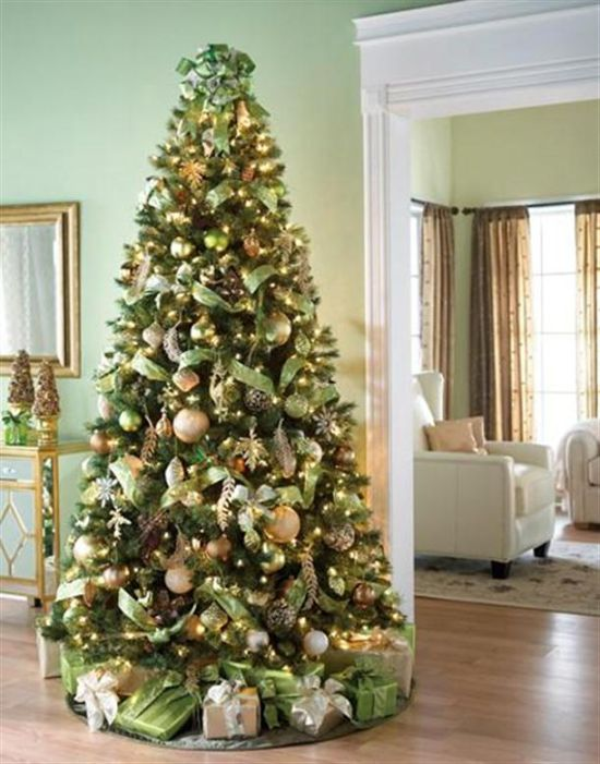 Elegant christmas tree decorations to make for Fancy xmas decorations