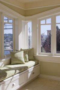 Corner Window Seat - Home Design