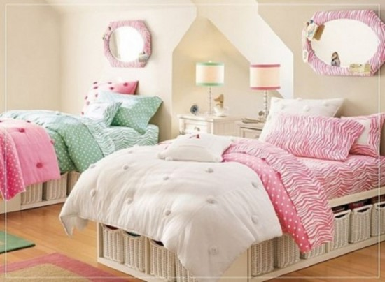 51 Stunning Twin Girl Bedroom Ideas