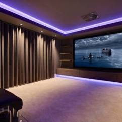 Living Room Decor With Brown Leather Couches Design Style Quiz 20 Home Theater Ideas | Ultimate
