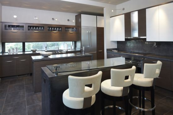folding kitchen island what is the best faucet 50 modern bar stool ideas | ultimate home