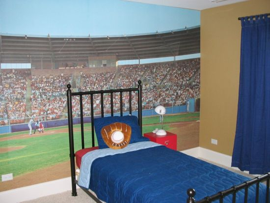 Baseball Themed Bedroom Other Metro By South East