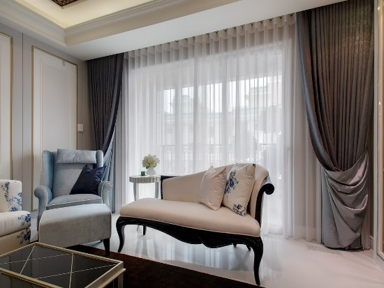 Sheer Living Room Curtains