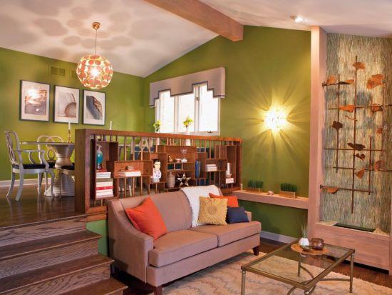 Midcentury sunken living room design with modern accents - NO.1# BEAUTIFUL SUNKEN LIVING ROOM DESIGN IDEAS