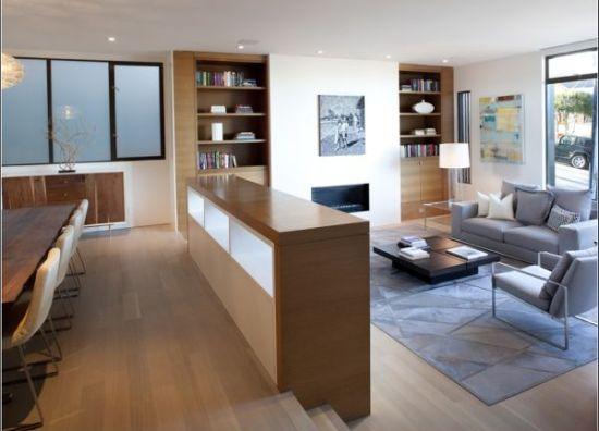 Simple grey sunken living room - NO.1# BEAUTIFUL SUNKEN LIVING ROOM DESIGN IDEAS
