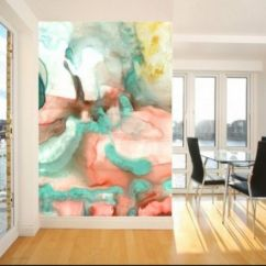Accent Wall Paint Ideas For Living Room Yellow Black And Red 33 Stunning Chic Watercolor Image Credit Interioridea Colors