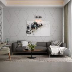 Living Room Accents Decorated Rooms 33 Stunning Accent Wall Ideas For Trendy With Geometric Patterns
