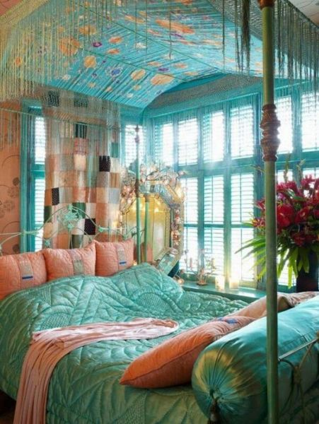 turquoise bohemian bedroom ideas 37 Exquisite Bedroom Design Trends in 2016 | Ultimate Home Ideas