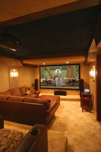 Home Theater Lighting Ideas. Home Theater Rooms Design