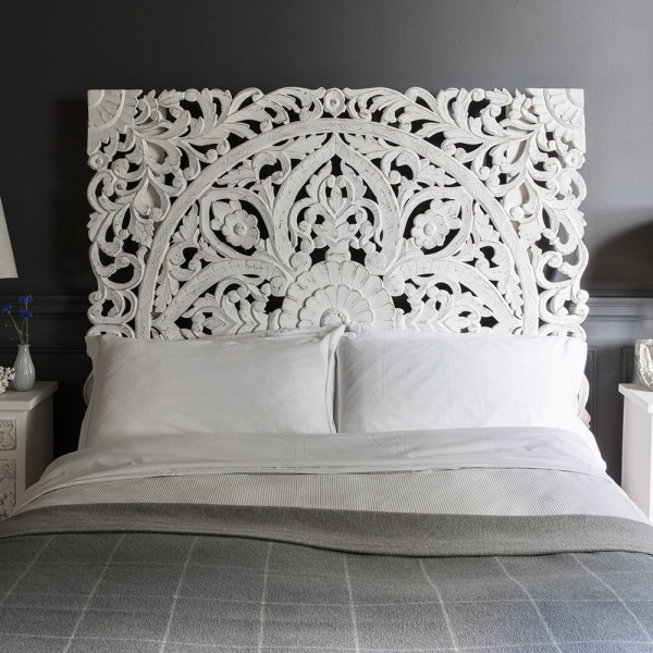 Awesome Bedroom Decor Ideas With Wooden Headboards