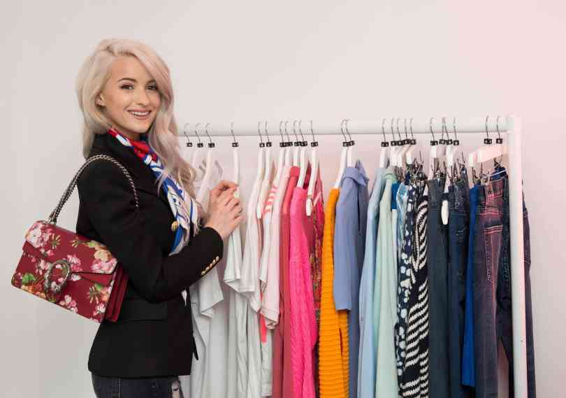 EDITORIAL USE ONLY The British Heart Foundation (BHF) collaborates with blogger Victoria Magrath, otherwise known as InTheFrow, for their pop-up fashion shop #INTHEFROWxBHF, which open to the public on June 3rd in Neal Street, Covent Garden, London. PRESS ASSOCIATION Photo. Picture date: Thursday June 2, 2016. Photo credit should read: John Phillips/PA Wire