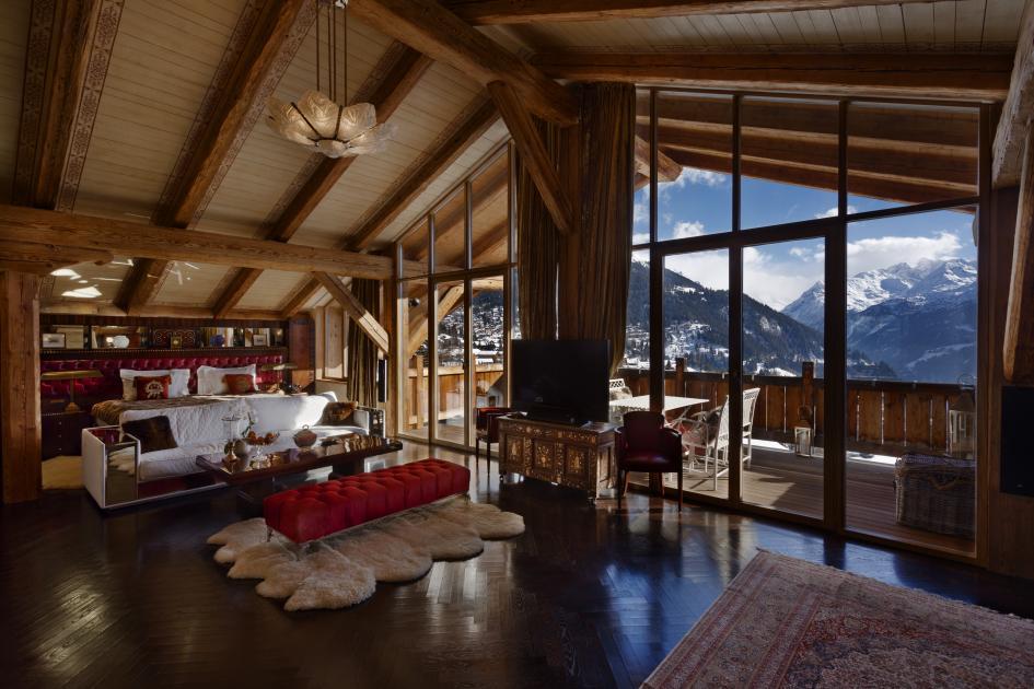 Chalet Truffe Blanche Ski Verbier Switzerland Ultimate Luxury Chalets
