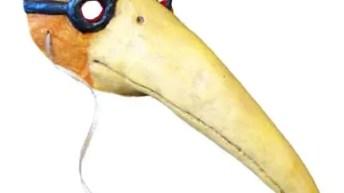 Paper Mache Plague Doctor Mask