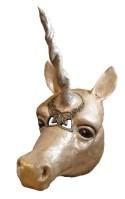 Paper Mache Unicorn Mask