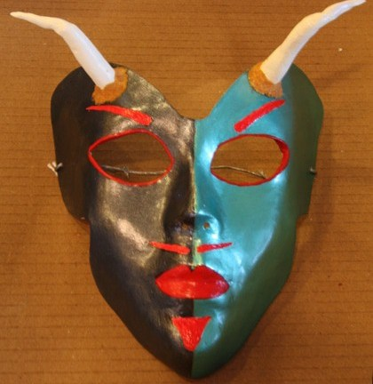 Two-Faced Devil Mask