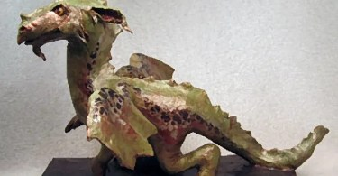 How to Make a Paper Mache Dragon