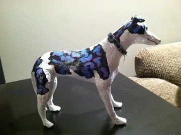 Paper Mache Colby