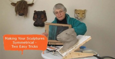 How to make your sculpture the same on both sides.