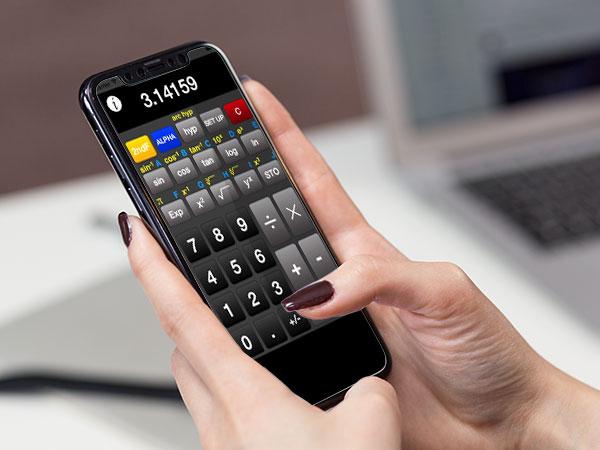 acalc iphone ipad calculatrice scientifique gratuite 1 - ACalc iPhone iPad - Calculatrice Scientifique Vintage (gratuit)