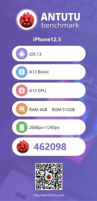 AnTuTu v8 scores: iPhone 11 Pro Max
