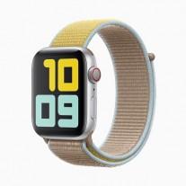 Apple Watch Series 5 in: Silver aluminum