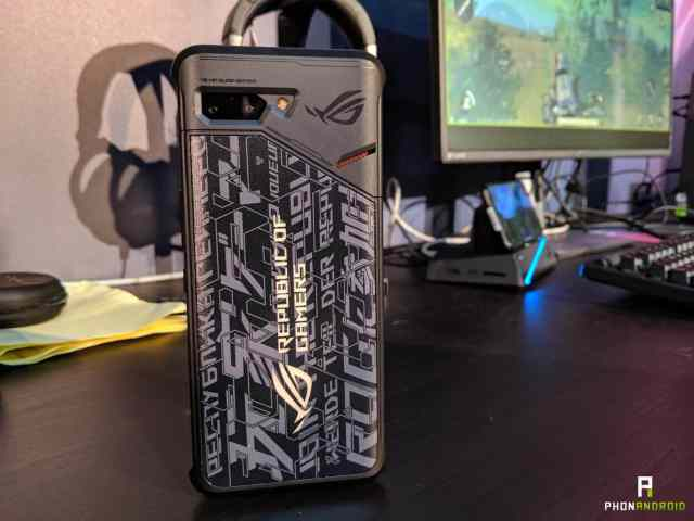 asus rog phone 2 coque nfc