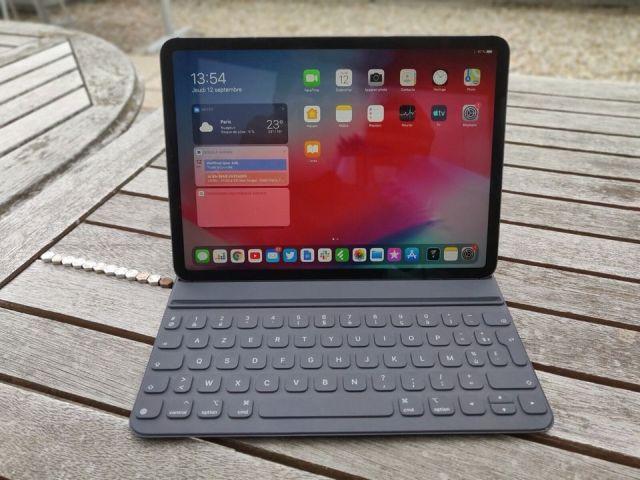 Avec iPadOS, le centre de notification est désormais ancré sur la page