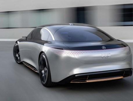 Ce concept-car annonce une prochaine berline électrique chez Mercedes