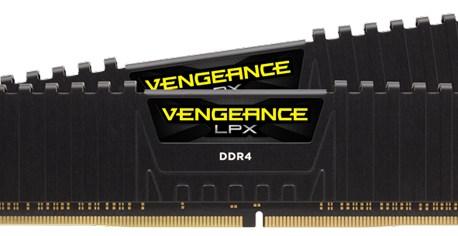 Corsair annonce son kit mémoire Vengeance LPX 16 Go (2 x 8 Go) DDR4-4866 MHz C18