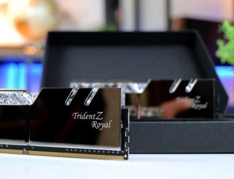 DDR4 Trident Z Royal, G.Skill franchit la barre des 6 GHz, détails