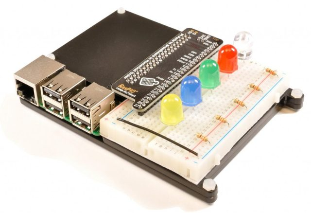 RasPiO Breadboard Pi Bridge (BBPi)