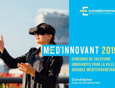 Entrepreneurs de la Smart City: candidatez au concours MED'INNOVANT