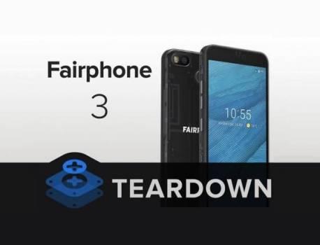 Fairphone 3 Teardown: It's a real modular phone