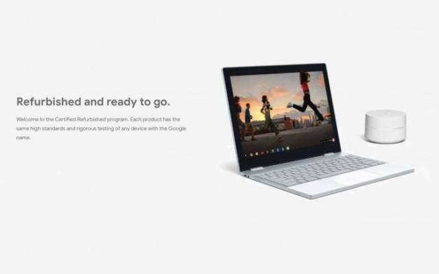 Refurbished Pixelbook Google Wifi