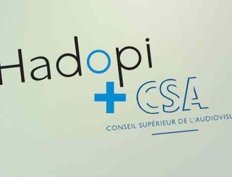Hadopi va fusionner avec le CSA
