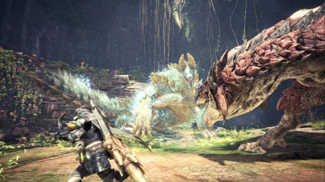 Zinogre in Monster Hunter World Iceborne