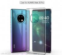 Rumored renders of Huawei Mate 30 Pro