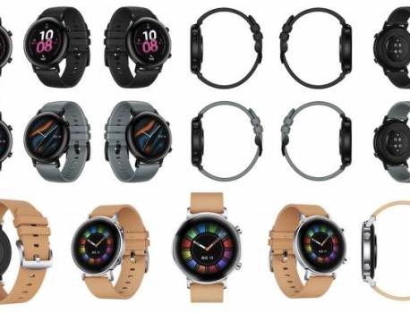 Huawei Watch GT 2 images leaked, launch happening soon